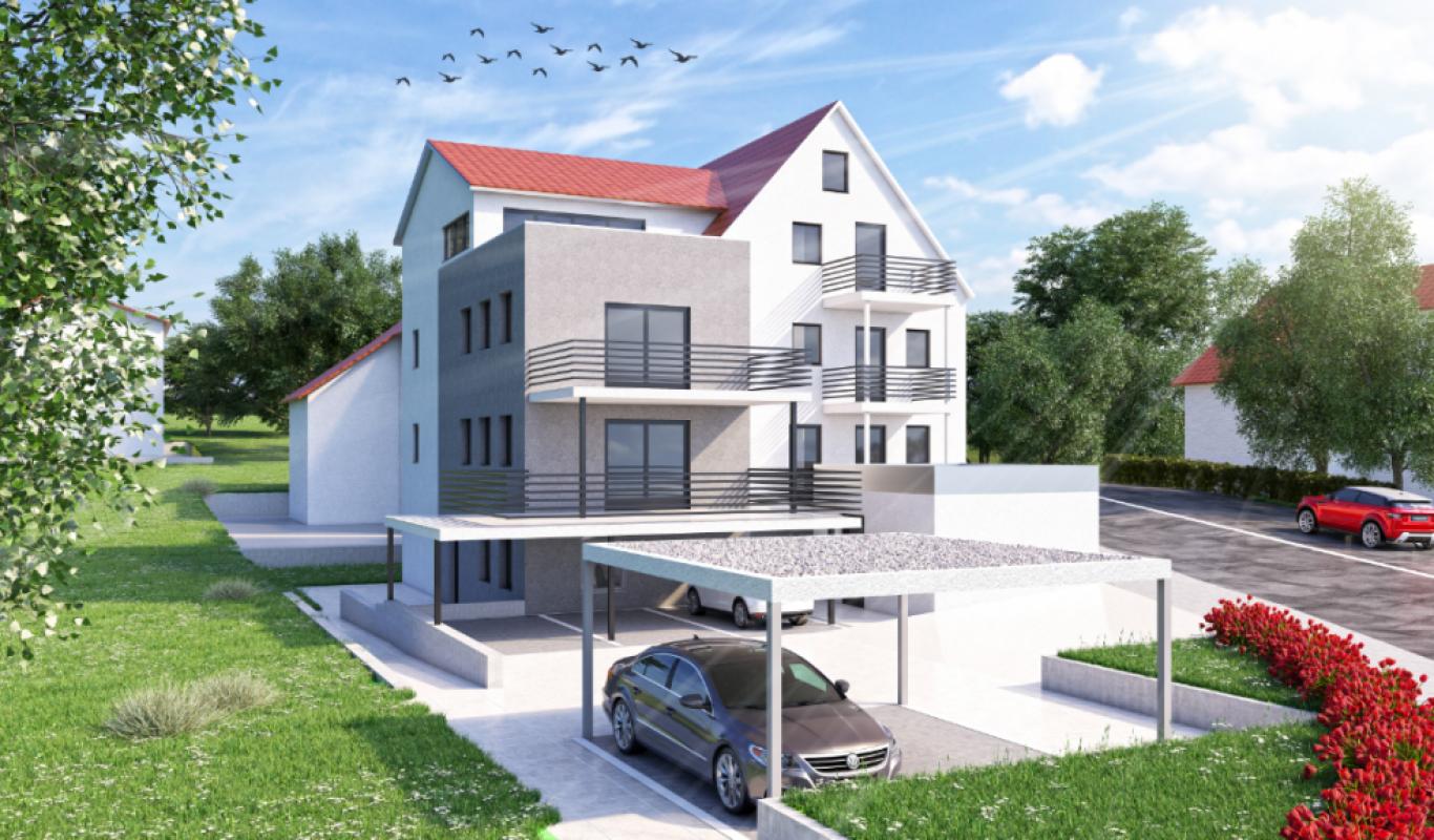 Wohnhaus Wohnbau Neckaralb